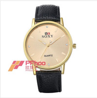 Wholesale Europe and the United States beautifully minimalist male ladies watch mm round alloy quartz watch WH0036A