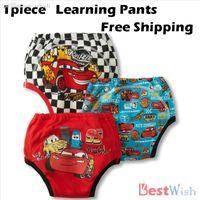 Wholesale piece Cotton Lace Ruffle Pants Newborn Baby Girl Boy Panties Infact Potty Training Pants Baby Underwear BM0021