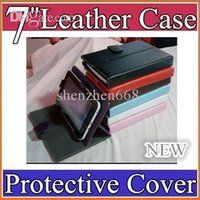 Wholesale 100 inch multi color PU leather case cover Adjustable stand for tablet pc A13 A23 A31S A20 Q88 EBOOK PT07