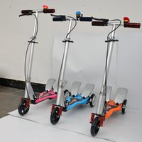 Wholesale Kids Pedal Power Scooters Kick Scooter Foldable Children s Outdoor Sports Bike Riding Toys Balance Bicycles