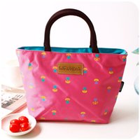 band lunch boxes - Thermal lunch bag waterproof portable lunch bag band boxes small bag cooler bag