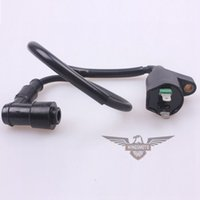 Wholesale 2015 BRAND NEW GY6 CC IGNITION COIL WITH DEGREE PLUG CAP QMB QMJ