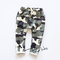 camo clothing - New Fashion Children s Clothing Kids Boy Gilrs Camouflage Long PP Harem Pants Children s Sport Camo Cargo Trousers