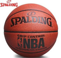 Cheap Wholesale Spalding PU 74-604Y indoor and outdoor match basketball