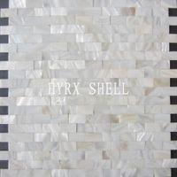 bathroom subway tile - Home mosaics tiles white subway brick mother of pearl tile kitchen backsplash bathroom mirror shower wall tub shell decor tiles