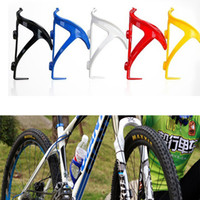plastic water bottle sports - Plastic Bike Bicycle Water Bottle Holder Cage Rack Outdoor Sports Accessories Strong Toughness Durable Cycling Equipment MBI