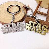 Wholesale Newest Star Wars Airship Key Ring Design Children Key Buckle Chain Lost In Space Millennium Falcon Replica Metal Style Keychain Christmas