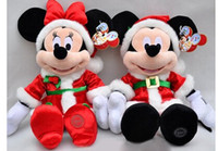 Wholesale 2017 Christmas Minnie Mickey Mouse Toy Pelucia Mickey Plush Toys Large Stuffed Animals Kids Doll cm Soft Toys for Girls Children Gifts