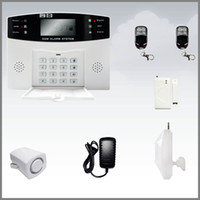 Wholesale NEW Wireless Home Security Digital Burglar Smart GSM Alarm System With Auto Dial LCD Voice DHL FREE