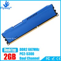 Wholesale Brand New GB PC2 S Mhz GB PIN DDR2 Desktop Computer Memoria G PC2 PC Module DIMM RAM for Intel AMD