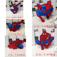 Wholesale New Mixed Style Fashion Garment Bag Sweater Embroidery Patches Super Man design Mixed styles