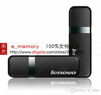 Wholesale Original seal Lenovo T110 GB GB GB GB USB usb flash drive pendrive memory disk retail blister package free drop shipping