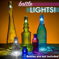 wine cork - Free DHL Cork Shaped Rechargeable USB LED Night Light Empty Wine Bottle Lamp Bar Party Creative lamp