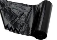 Wholesale Professional Design CM Black Plastic Rubbish Bags On Roll High Waterproof Performance Waste Bags