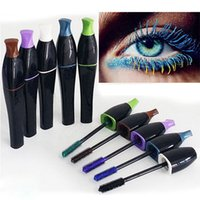Wholesale 2015 Long Curling Makeup Eyelash Waterproof Fiber Mascara Eye Lashes Cosmetic Fashion Eyebrow Enhancers pieces