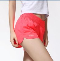 Wholesale 2015 New Arrival Summer Lady Jogging Quick Drying Women Short Running shorts Elastic Waist Candy Colors A2