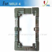 Wholesale precision aluminium alloy metal mold for MIUI S lcd refurbish repair broken glass highly frame fixer mould by DHL