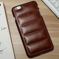 Wholesale Sofa Leather Back Case For iPhone Plus inch Luxury Back Cover For iPhone Plus with Free screen protectors
