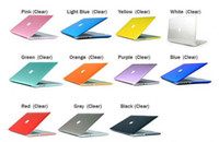 Wholesale Clear Crystal Hard Cover Case Rubberized Crystal Front Back Protector Shell For Macbook Air Pro Retina