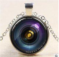 best camera jewelry - 2015 New Arrival Fashion Vintage Jewelry Antique Bronze Round Camera Lens Necklaces Pendants for Men Women Best Friends Pendant