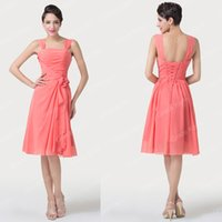 Cheap short Party Dresses Best chiffon bridesmaid dress