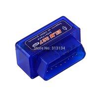 Wholesale 1pc Super Mini elm327 ELM327 Bluetooth USB OBD2 OBDII auto motor vehicle Car Scanner Bluetooth ELM Diagnostic Scan Tool
