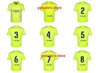 online store - Thai Quality Iniesta Xavi SUAREZ MESSI NEYMAR JR Vermaelen Soccer Jersey RD Cheaper Third Jersey Jersey Online Sale Store Top