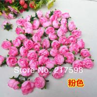 Wholesale 100PCS Silk Small Rose Decorative Flower Artificial Flowers for Party wedding DIY cm