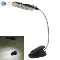 Wholesale Flexible USB Battery Power Clip on LED Table Desk Lamp Light LED Bedside Book Reading Lamp for Bed