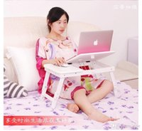 Cheap Wholesale - free shipping 2014 new laptop table bed computer desk computer desk bed, a small table folding table for Christmas