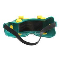 Wholesale Solar Power LCD Welding Mask Eye Patch Auto Darkening Welding Mask MIG Welding Helmet Safety for Eyes BHU2
