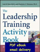 activities leadership - The Leadership Training Activity Book Exercises For Building Effective Leaders