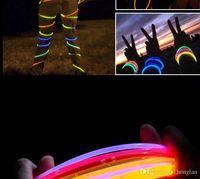christmas ball glass - Fluorescence Sticks Glow Sticks Light Stick Glo Sticks Glow Bracelets vs LED glow glasses led glow ball concert Band Party Christmas toy