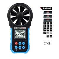air flow anemometer - Handheld Digital Anemometer Wind Speed Meter Air Flow Air Velocity Tester with Bar Graph BSIDE EAM02
