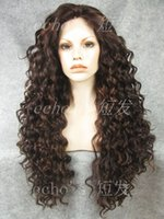hair weave and wigs - Short echo export to Europe and America Ms sweet fluffy long hair wig like hand woven human hair wig