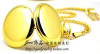 bag acrylic watch - New x47mm Class Nobel Gold Tone Mens Quartz Pocket Watch Fuzzy Bag Fashion amp Leisure Necklace Pocket Watch