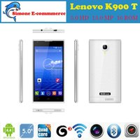 "Cheap Lenovo K900 T Original Cell Phones MTK6592 Octa Core Smartphone Mobile Phone 5.0"" 13.0MP IPS Android 4.4.2 GSM WCDMA 3G celular"