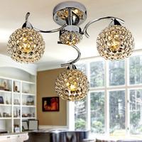 Wholesale K9 crystal pendant lamp lustres de sala E14 abajur living room modern bedroom lustre lampshade pendant lights lustres de cristal