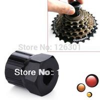 Cheap Bike Bicycle Cassette Flywheel Freewheel Lockring Remover Tool Black