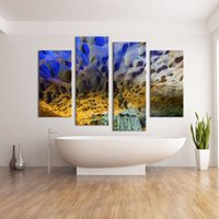 abstract photographs - 4 Panel photograph art living rooms set Wall painting print on canvas for home decor idea paint on Wall pictures simple painting