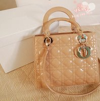 Cheap Hot Selling 2015 New Fashion Lady bag Women's Vernis Tote Bag Handbag Quilted Christian Handbags Shoulder Bags nude white red Top Quality