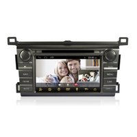 car dvd player gps and bluetooth - CASKA Car DVD Player Android din system FOR Toyota RAV4 and up GPS navigation bluetooth car in dash CD00981 CA371 XLA