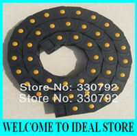 Wholesale 18x18mm Enclosed Type Cable Drag Chain Wire Carrier Black