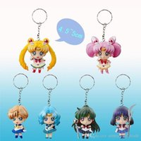 Wholesale Sailor nd generation animation around A paragraph beautiful girl eyes version keychain hand model