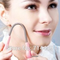 Wholesale New Face Care Facial Hair Epicare Epilator Epistick Remover Stick Facial Small Hair Cleaning Tools Safe Easy A2