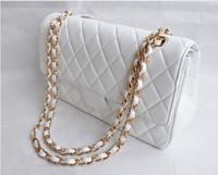 doctor bag - 2016 new famous brands c bag designer leather handbag Fashion Women s Double Flap Bag Quilted Lambskin chain Bag