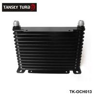 Wholesale TANSKY NEW DESIGN High Quality AN10 ROW MM ALLOY RACE DRAG DRIFT BLACK OIL COOLER TK OCH013