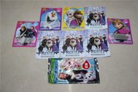 Wholesale Frozen Card Game New Cartoon Cards Game Frozen Series Paper Cards Children Toys