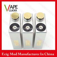 Wholesale Dimitri Box Mod Clone Full Mechanical Box Mod Dual Batteries Mods VS Vaporflask V2 Mod