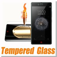 Cheap Tempered Glass For ZTE V987 V5 Z7 mini Tempered Glass Screen Protector Film Protector Explosion Proof Guard Treated Glass In Retail Package